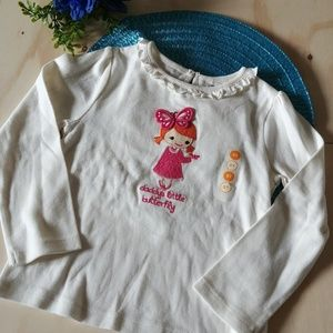 Gymboree. Long Sleeve T-Shirt. Beiges. 5T